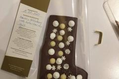 Die fertige Tafel Schokolade